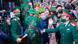 Hơn 3.000 thanh niên Nghệ An lên đường nhập ngũ