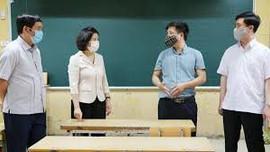 Bắc Ninh: Thực hiện các biện pháp phòng, chống dịch COVID-19 khi học sinh đi học trở lại