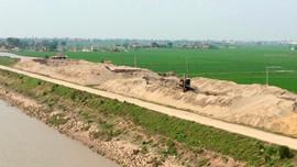 Tăng cường quản lý hoạt động khai thác khoáng sản, cát sỏi lòng sông