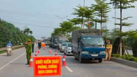 Bắc Ninh: Dừng hoạt động của chốt kiểm soát dịch COVID-19 liên ngành cấp tỉnh