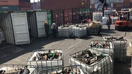 Quyết liệt xử lý phế liệu tồn đọng tại cảng biển