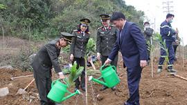 Bộ Công an phát động ra quân bảo vệ môi trường, đa dạng sinh học và hưởng ứng Tết trồng cây tại Sơn La