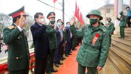 Lào Cai: Tưng bừng ngày hội nhập ngũ của  800 chiến sỹ