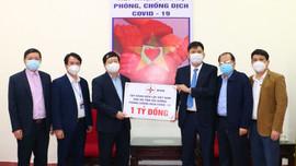 EVN ủng hộ tỉnh Hải Dương 1 tỷ đồng để phòng chống dịch Covid-19