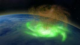 Lần đầu xuất hiện bão không gian trên trái đất