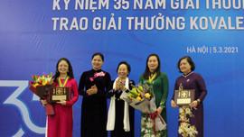 Trao tặng Giải thưởng Kovalevskaia năm 2020 cho các nhà khoa học nữ