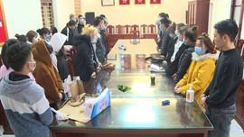Thanh Hóa: 37 nam, nữ bị bắt giữ do tổ chức sử dụng chất ma túy