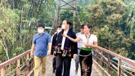 Lai Châu: Chủ tịch tỉnh dẫn đoàn khảo sát điểm du lịch...