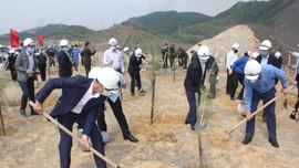 Than Cao Sơn hưởng ứng Tết trồng cây Xuân Tân Sửu 2021