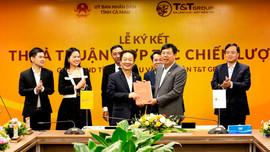 Tập đoàn T&T Group hợp tác chiến lược với hai tỉnh Lào Cai và Cà Mau