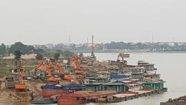 Tiên Du – Bắc Ninh: Nhiều bến bãi tập kết VLXD hoạt động trái phép