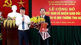 Nghệ An: Có tân giám đốc Sở TN&MT