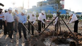 """Phát động phong trào """"Tết trồng cây"""" tại Công ty Nhiệt điện Vĩnh Tân"""