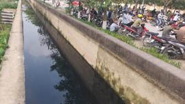 """TP Vinh (Nghệ An): Nước thải đen ngòm """"tấn công"""" mương tưới tiêu"""