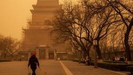 Bão cát lớn đổ bộ thủ đô Bắc Kinh của Trung Quốc