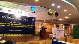 """Hội thảo tham vấn cấp tỉnh về đề xuất Dự án """"Tài nguyên nước dưới đất trong vùng châu thổ Mekong"""""""