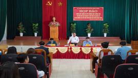 Họp báo về cưỡng chế thu hồi đất thuộc Dự án đường cao tốc Bắc - Nam đoạn qua huyện Nông Cống