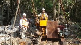 Đánh giá trữ lượng mỏ đá vôi Bắc núi Khoe Lá