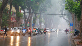 Dự báo thời tiết 26/3: Bắc Bộ sáng có mưa nhỏ và sương mù