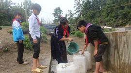 """Điện Biên: """"Báo động"""" thiếu nước sinh hoạt vùng nông thôn"""