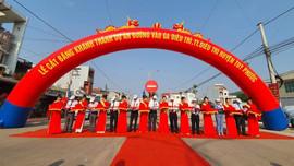 Bình Định khánh thành 3 công trình giao thông trọng điểm chào mừng kỷ niệm 46 năm Ngày giải phóng tỉnh