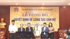 Ông Mai Trọng Thái giữ chức vụ Phó Giám đốc Sở TN&MT Hà Nội