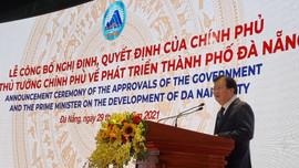 Đà Nẵng công bố Nghị định, Quyết định của Chính phủ và Thủ tướng Chính phủ về phát triển thành phố