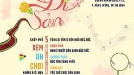 """Ngày hội du lịch đường phố Hạ Long số 2 với chủ đề """"Hội Xuân di sản"""" diễn ra từ ngày 2-4/4/2021"""