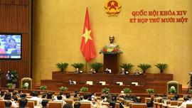 Báo cáo của Chủ tịch nước, Chính phủ đã đánh giá toàn diện về công tác nhiệm kỳ