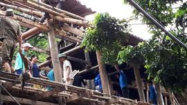 Sơn La: 115 nhà dân bị thiệt hại do mưa, gió lốc