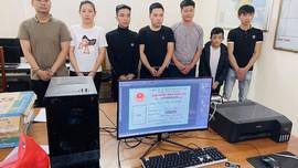 Thanh Hóa: Bắt nhóm đối tượng làm giả chứng minh thư lừa đảo chiếm đoạt tài sản