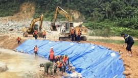 Những hình ảnh mới nhất từ hiện trường vụ sạt lở thủy điện Rào Trăng 3