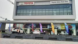 Hoài Đức - Hà Nội: Chợ thị trấn Trạm Trôi bỗng thành đại lý ô tô?