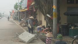 Ba Vì -  Hà Nội: Đường gần 50 tỷ chưa thi công xong đã vá víu