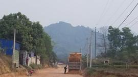 Dự án nâng cấp đường 273  Thái Nguyên:  Nhà thầu  có dấu hiệu sử dụng vật liệu không rõ nguồn gốc