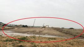 Nam Đàn (Nghệ An): Cần mạnh tay với hành vi lấn chiếm đất nông nghiệp trái phép làm bến VLXD Phú Xuân