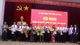 Lai Châu bổ nhiệm Phó giám đốc Sở Tài nguyên và Môi trường
