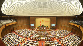 Lãnh đạo Quốc hội và các cơ quan sau kiện toàn