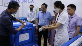 Sơn La tiếp nhận 6.700 liều vắc xin phòng Covid-19 đầu tiên