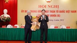 Đồng chí Đỗ Văn Chiến giữ chức vụ Chủ tịch Ủy ban Trung ương MTTQ Việt Nam