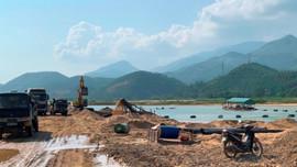 Quảng Nam: Nhiều doanh nghiệp chưa tuân thủ quy định khai thác cát, sỏi lòng sông