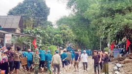 Văn Bàn - Lào Cai: Huy động 200 cán bộ khẩn trương khắc phục mưa lũ