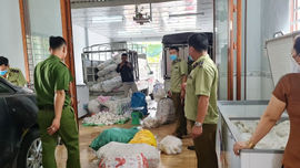 An Giang: Hơn 3 tấn đồ chay bị tạm giữ