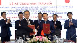 Việt Nam - Nhật Bản: Tăng cường hợp tác trong lĩnh vực tài nguyên và môi trường