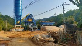 Trạm trộn bê tông tươi xây dựng trái phép tại TP Cao Bằng: Chính quyền địa phương đã làm hết trách nhiệm?