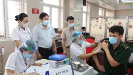 Ninh Bình triển khai tiêm vắc xin phòng Covid-19 đợt đầu tiên