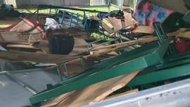 Mưa lớn, dông lốc gây thiệt hại về tài sản tại nhiều địa phương