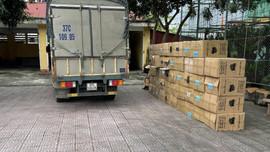 Hà Tĩnh: Hơn 122 ngàn khẩu trang không rõ nguồn gốc  bị thu giữ khi đang trên đường đi tiêu thụ
