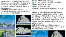"""Nghệ An: Đưa dự án BĐS """"ảo"""" lên rao bán trên Facebook"""