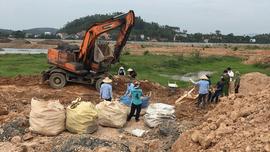 Bắc Giang: Phát hiện hàng chục tấn chất thải được chôn lấp tại dự án của Công ty TNHH Khải Hồng Việt Nam